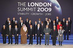 G 20 leaders in London