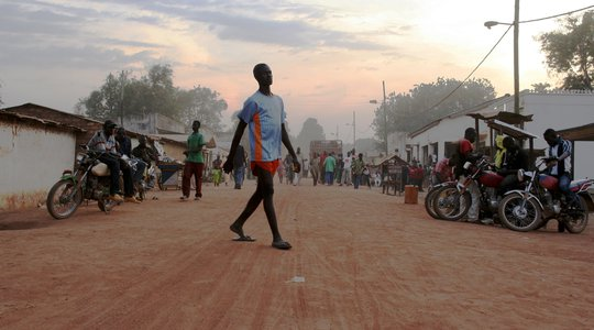 Central African Republic street