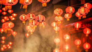 Chinese New Year lanterns. Credit: ToA55/iStock