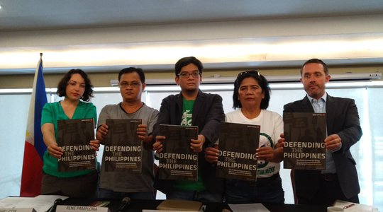 Defending the Philippines report launch