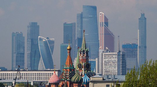 St Basils and Moscow City