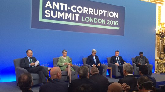 Anti-Corruption Summit 12 May