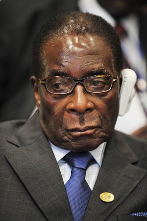 Mugabe AU summit