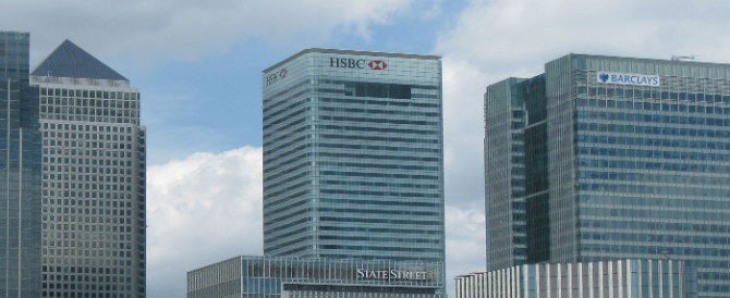 HSBC Swiss leaks building shot