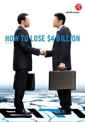 lose four billion report cover