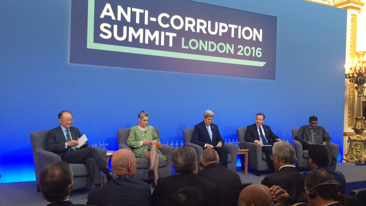 Anti-Corruption Summit 12 May 2016